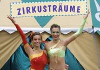 Artisten präsentieren Zirkusträume
