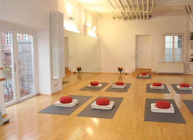 Yoga Kurs Raum Vermietung