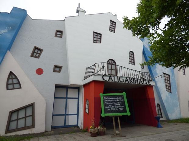 Zirkusträume in der Calligari Halle im Filmpark Babelsberg