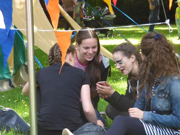Auf dem Kunstfest Pankow